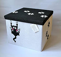 Коробка з кришкою Котик