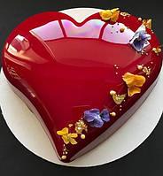 Гель зеркальный глянцевый для декора и покрытия Bakels холодный 5 кг