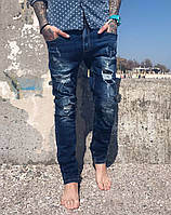 Джинсы Iteno 0516 стильная мужская одежда, джинсы, брюки, шорты