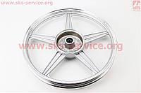 Диск колесный задний литой 18Х1,6 ZS-200, серый (ось 15мм)