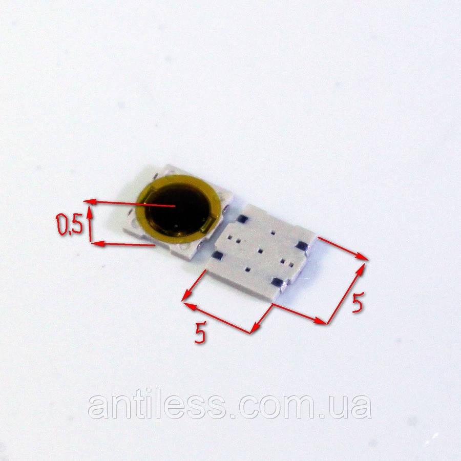 КНОПКА ВОДОНЕПРОНИЦАЕМАЯ 5*5*0,5 5x5x0.5 мм