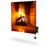 Керамічна панель обігрівач DIMOL Standart 03 з терморегулятором(з малюнком), фото 1