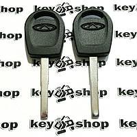 Корпус авто ключа под чип для Chery (Чери), лезвие HU101