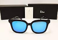 Женские солнцезащитные очки Dior 1827 (синяя линза)