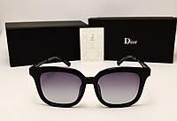Женские солнцезащитные очки Dior 1827 (черный цвет)