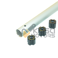 Труба  d=26 мм 8  бензокосы ( с втулкой)