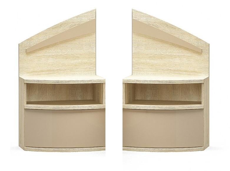 """Две прикроватные тумбы к спальне """"Аляска"""". Мебель-Сервис"""