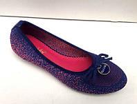Балетки женские материал текстиль KF0239