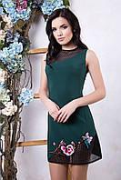 Короткое платье Флория бутылка ТМ Irena Richi 42-48 размеры