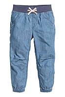 Трикотажные джинсы  h&m на девочку
