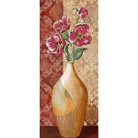 Схема для вышивки бисером Цветы в вазе - 2