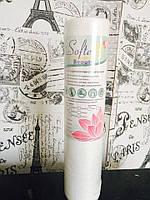 Серветки одноразові в рулоні 40*40 см 50шт Beauty віскоза+поліестер з перфорацією, фото 1
