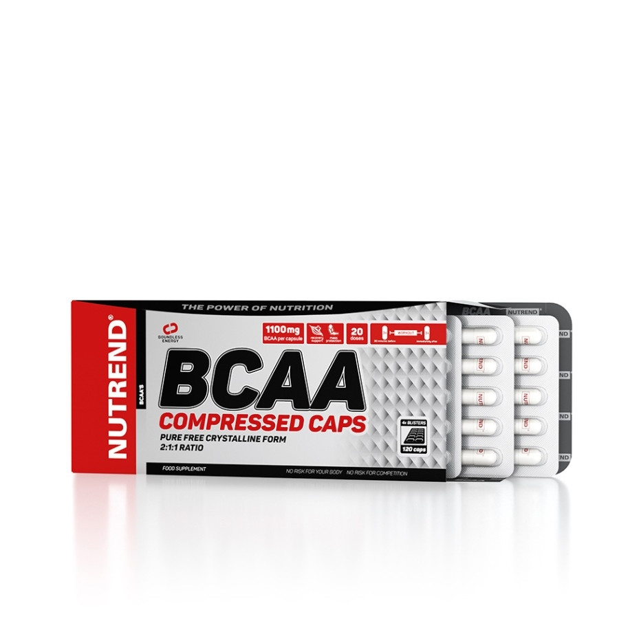 Nutrend BCAA Compressed Caps 120caps