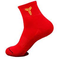 Баскетбольные носки Kobe красные