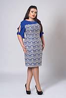 Оригинальное платье с декоративными бантами