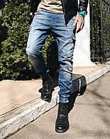 Джинсы Denim Republic 4946 джоггеры стильная мужская одежда, джинсы, брюки, шорты