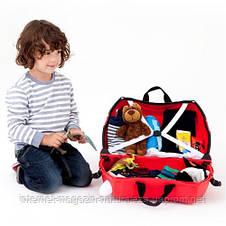 Детский чемодан Trunki Autobus Boris, фото 3