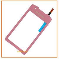 Сенсор (тачскрин) Samsung GT-S5620 Monte Pink Original