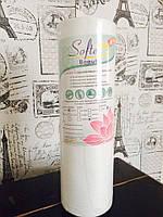 Салфетки одноразовые в рулоне 40*40 см 100шт Beauty вискоза+полиэстер с перфорацией