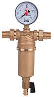 """Самопромывной муфтовый фильтр ICMA (1 1/2"""" резьба НН) для воды"""