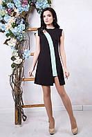 Летнее женское черное платье Рошель ТМ Irena Richi 42-48 размеры
