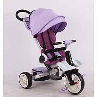 Детский трехколесный велосипед Azimut MODI T-600, фиолетовый