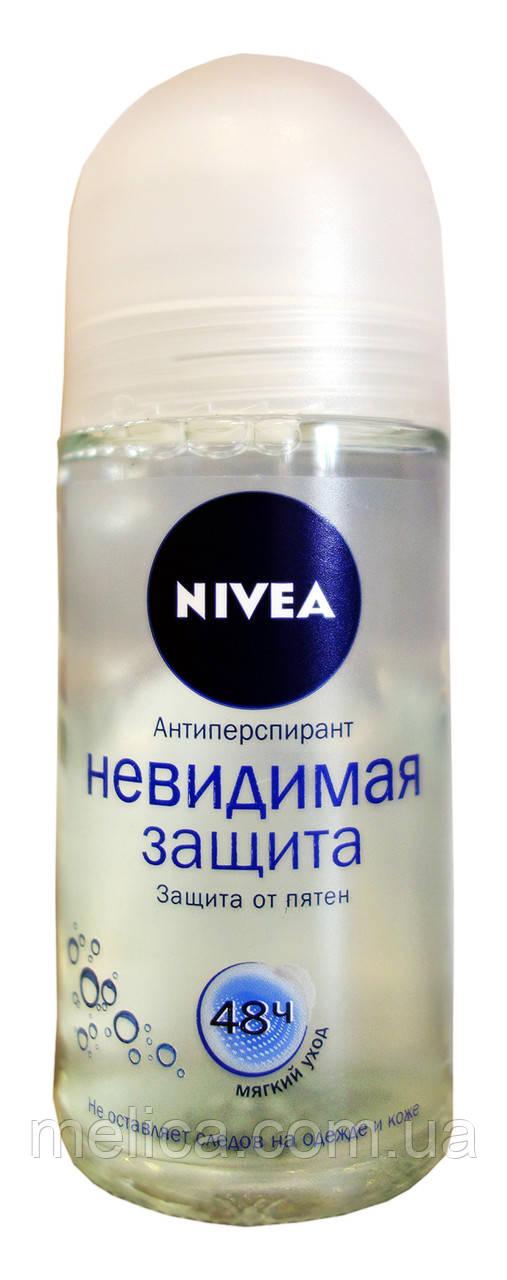 Антиперспирант шариковый Nivea Невидимая защита - 50 мл.