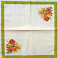 """Салфетка декупажная 33x33 см 3 """"Сиреневые цветы"""", фото 2"""