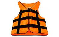 Жилет страховочный Bark оранжевый (90-110 кг.), art: BK-116