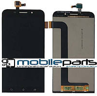 Оригинальный дисплей (модуль) + сенсор (тачскрин) для  Asus Zenfone Max | ZC550KL  (черный)