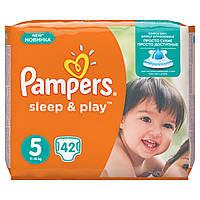 Подгузники Pampers Sleep & Play Размер 5 (Junior) 11-18 кг, 42 шт