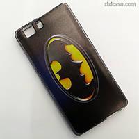 Силиконовый чехол с рисунком для Doogee X5 / X5 Pro (Бэтмен)