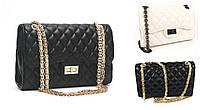 Женская сумка через плечо  большая классическая  classic Шанель