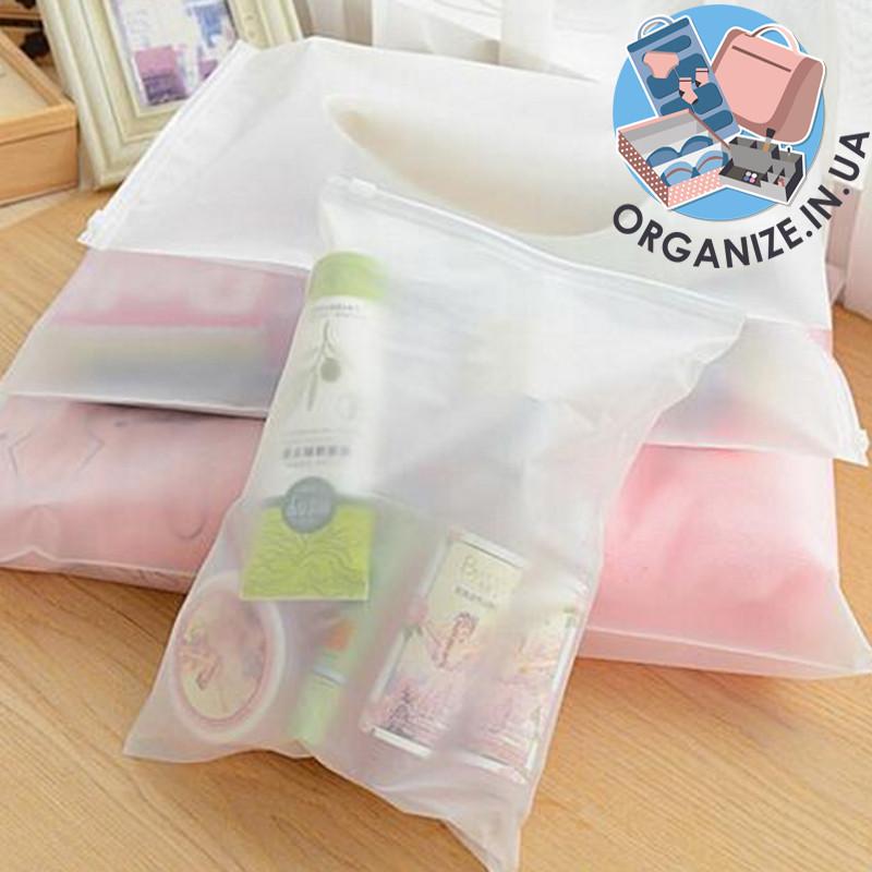 Дорожные прозрачные сумки для чемодана 4 шт