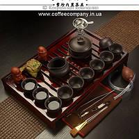 Набор китайской чайной церемонии керамический подарочный 23 предмета 9297