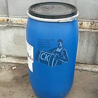 бочки пластиковые б/у 160л (крышка хомут) (чистая)
