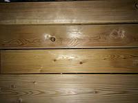 Палубная доска 27х120х3000 Сорт АВ Сибирская Лиственница, настил деревянный