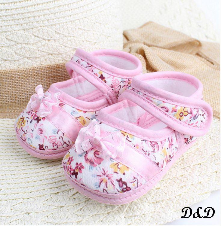 Обувь для самых маленьких розовые пинетки 12 см