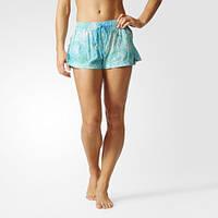 Короткие пляжные шорты женские adidas Allover Print BK0070 - 2017