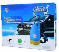 Домашняя портативная автомойка CHEJIEBA + насос + компактный шланг