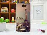 Чехол для HTC Desire 516 с рисунком узор, фото 4