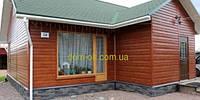 Сайдинг металлический Доска, блок-хаус Ольха рыжая
