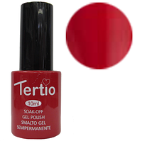 TERTIO гель - лак № 089(красное вино) 10 мл