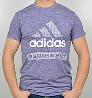 Летняя мужская футболка Adidas меланж в ассортименте