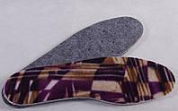 Стельки для обуви зимние фольгированные многошаровые