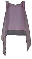 Нарядная розовая майка с шифоновой накидкой. Англия