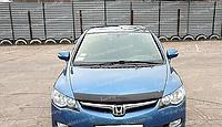 Дефлектор Хонда Цивик 8 седан (мухобойка на капот Honda Civic 8)