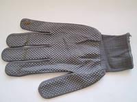 Перчатка женская микроточка № 11 (серая), фото 1