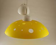 Круглый подвесной потолочный светильник для кухни Желтый 60Вт ERKA 1302 Е27