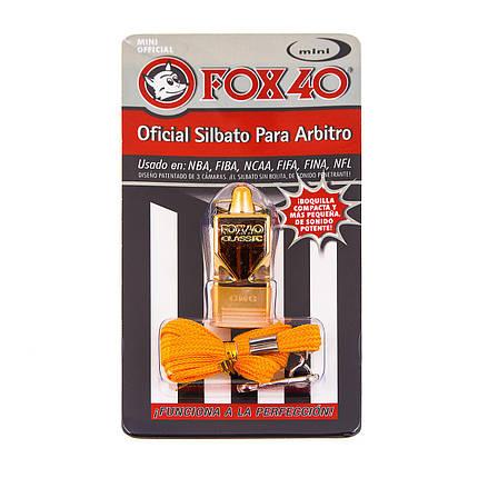 Свисток на шею металл Fox 40 CMG Classic FW0142, фото 2